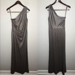 Lauren Ralph Lauren metallic formal maxi dress